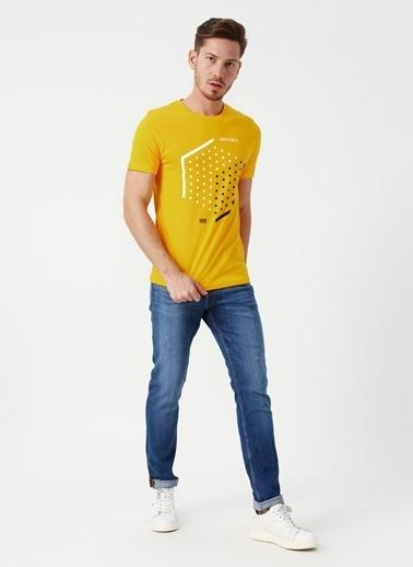 Jack & Jones Jack & Jones Booster T-Shirt Sarı